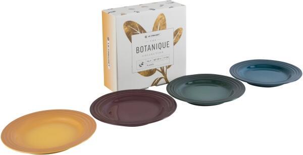 Le Creuset Teller 4er-Set, Botanique