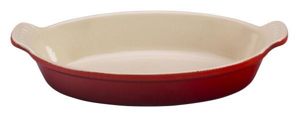 Le Creuset Auflaufform oval in kirschrot