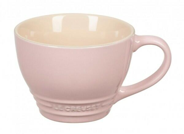 Le Creuset Cappuccinotasse in chiffon pink
