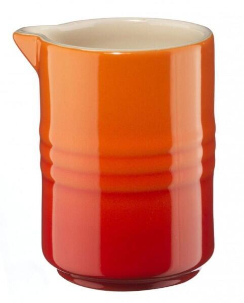 Le Creuset Milchkännchen 0,15 Liter in ofenrot