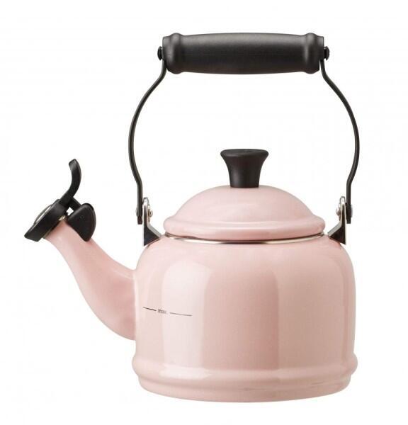 Le Creuset Wasserkessel Demi chiffon pink
