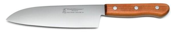 Kochmesser Lignum 3-HRC 60 von Windmühlenmesser in Pflaume (nicht-rostfrei)