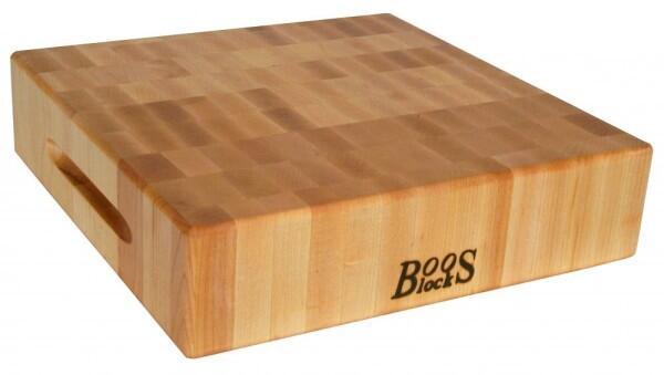Boos Blocks Hackbrett aus Ahorn, 30 x 30 cm