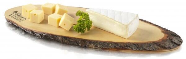 Boska Käsebrett M aus Baumrinde