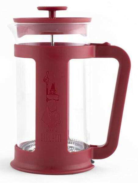 Bialetti Kaffeebereiter French Press Smart Red