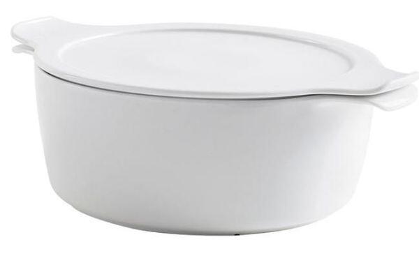 Eschenbach Topf mit Deckel Cook & Serve in weiß