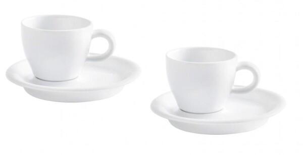 Kahla Café Sommelier Espresso Set 4tlg. in weiß