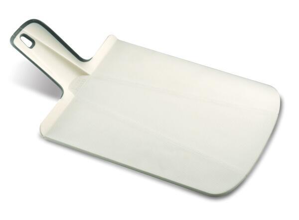Joseph Joseph faltbares Schneidebrett Chop2Pot Plus klein in weiß