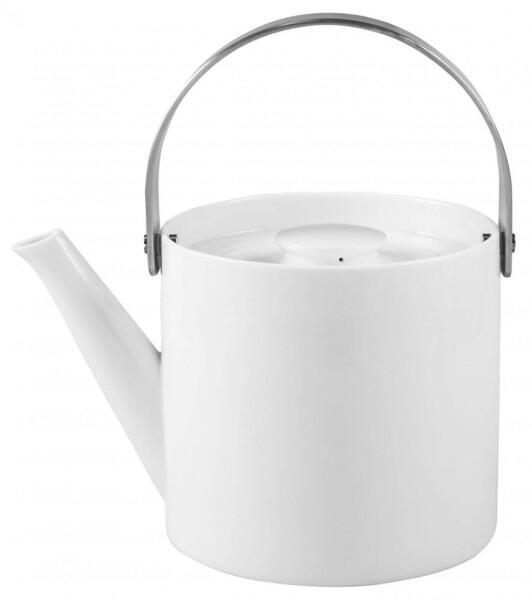 Carl Henkel Teekanne Conran Arrosoir Tea in weiß, 0,75 Liter