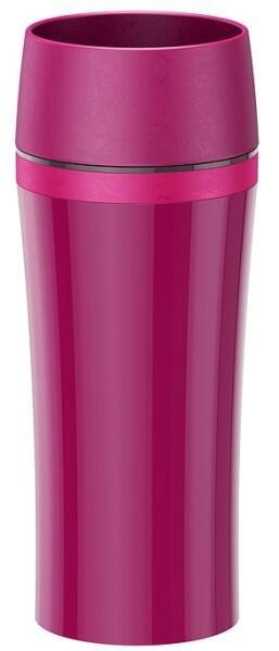 Emsa Isolier-Trinkbecher Travel Mug Fun in himbeer/rosa