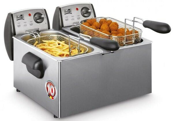 Fritel Fritteuse FR 1355 Duo