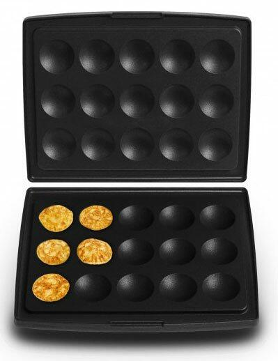 Fritel Backplatte Blinis/Poffertjes für Waffeleisen