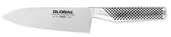Global GF-32 Yoshikin Chef Messer 16 cm, geschmiedet