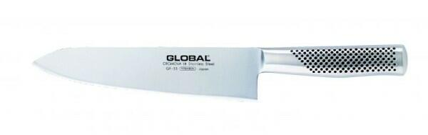 Global GF-33 Global Yoshikin Chef Messer 21 cm, geschmiedet