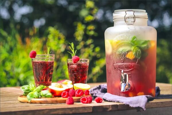 Gesunde Erfrischung gefällig?