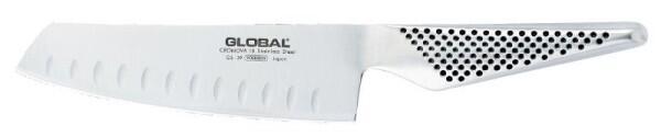 Global GS-39 Yoshikin kleines Chopmesser 14 cm mit Kullenschliff