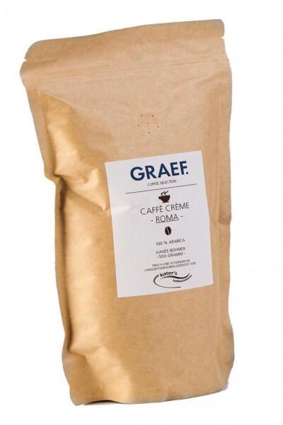 Graef Caffè Crème Roma (100% Arabica), 500g