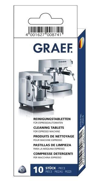 GRAEF Reinigungstabletten für Siebträger-Espressomaschinen