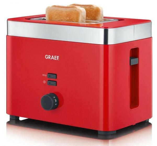 Graef Toaster TO 63 in rot