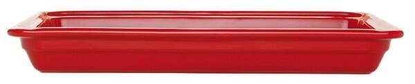 Emile Henry GN-Schale rechteckig 1/1 in rot