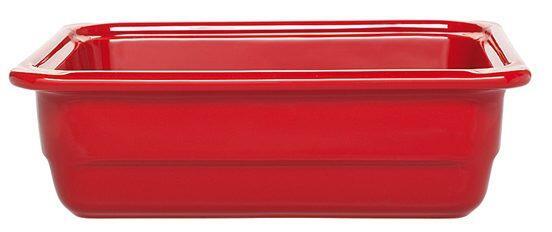 Emile Henry GN-Schale rechteckig 1/2 in rot