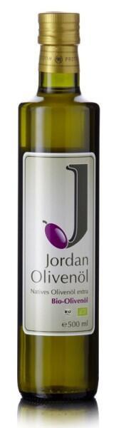 Jordan Bio-Olivenöl nativ extra, 500 ml