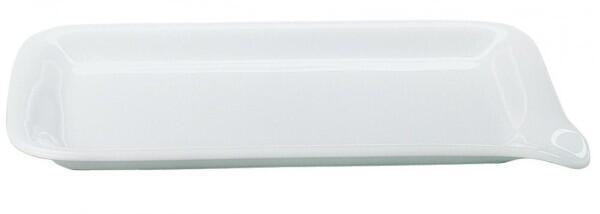 Kahla Five Senses Midi-Menüplatte 28 x 19 cm in weiß