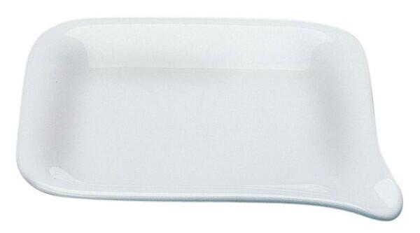 Kahla Five Senses Mini-Menüplatte 17 x 17 cm in weiß