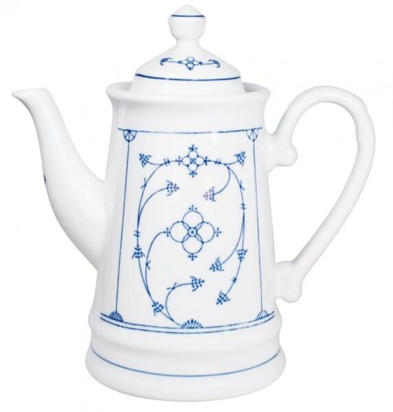 Kahla Tradition Kaffeekanne 1,30 l in Blau Saks