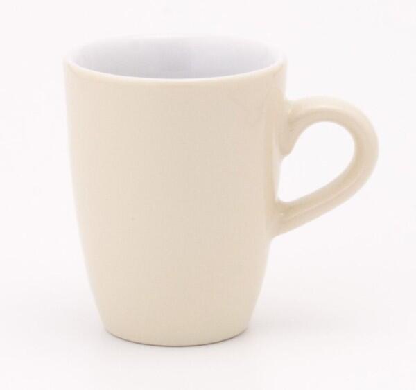Kahla Pronto Espresso-Obertasse hoch, 75 ml in elfenbein