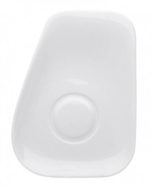 Kahla Elixyr Untertasse Kombi, 18 cm in weiß
