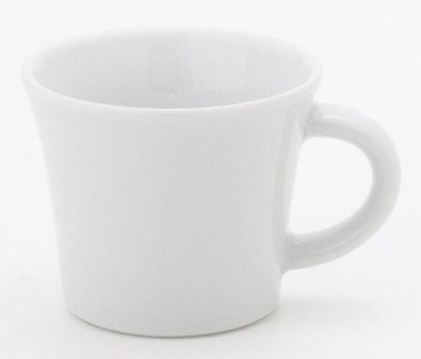 Kahla Update Espresso-Obertasse 0,09 l mit Henkel in weiß