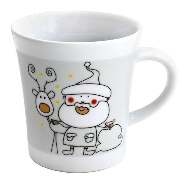 Kahla Update Notes Henkelbecher Weihnachtsgruß