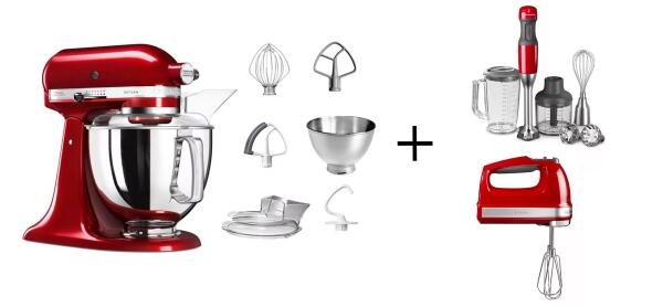 KitchenAid Küchenmaschine 175PS im Mixer-Paket