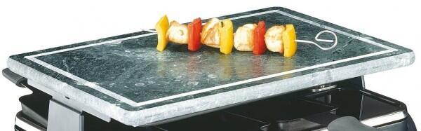 Küchenprofi Steinplatte für Raclette Hot Stone