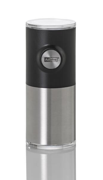 AdHoc magnetische Pfeffer- und Salzmühle Pepnetic in schwarz