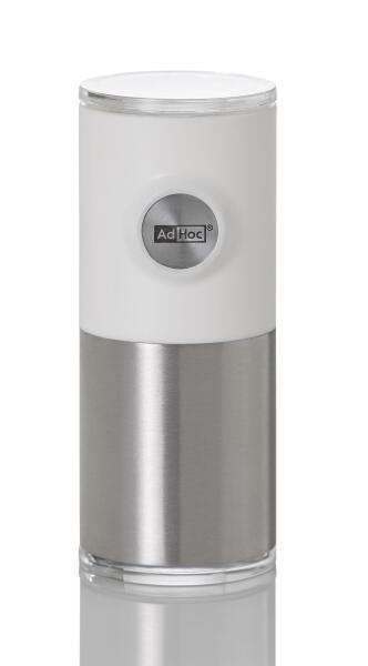 AdHoc magnetische Pfeffer- und Salzmühle Pepnetic in weiß
