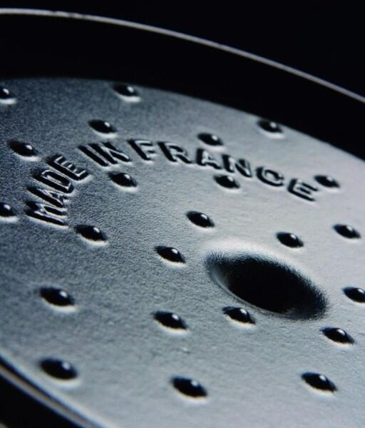 Noppensystem zur Befeuchtung des Bratguts mit Kondenswasser