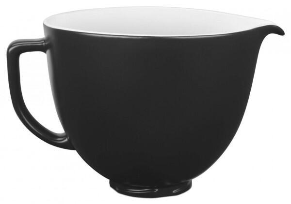 KitchenAid Keramikschüssel in schwarz, 4,7 L