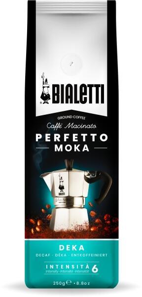 Bialetti gemahlener Kaffee (entkoffeiniert) Perfetto Moka Deka 250g