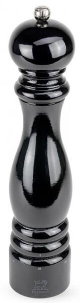 PEUGEOT Salzmühle Paris in Buche schwarz mit justierbarem Mahlgrad