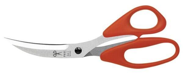 Scherenmanufaktur Paul Pizzaschere, orange