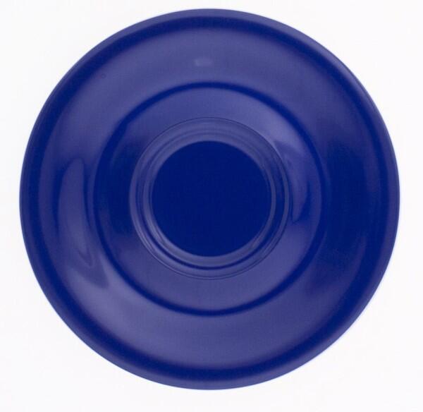 Kahla Pronto Untertasse 18 cm in nachtblau
