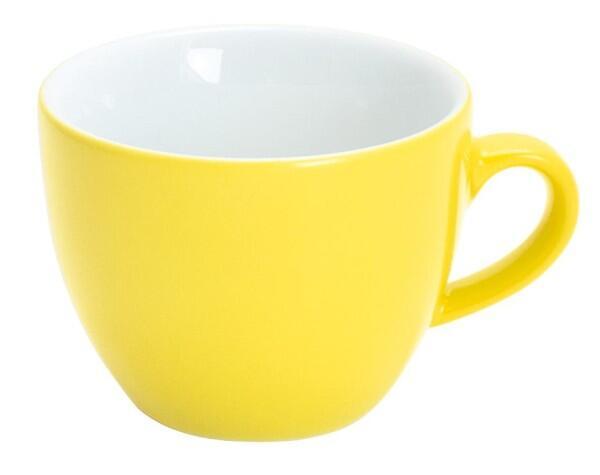 Kahla Pronto Espresso-Obertasse 0,08 l in zitronengelb