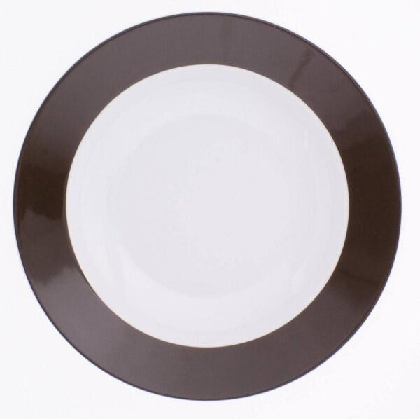 Kahla Pronto Suppenteller 22 cm in schokobraun