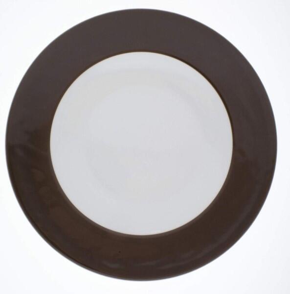 Kahla Pronto Brunch-Teller flach 23 cm in schokobraun