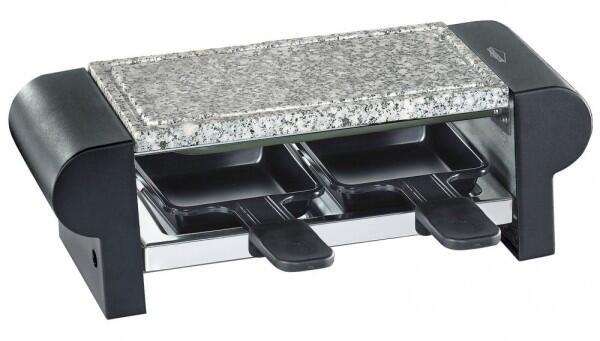 Küchenprofi Raclette Hot Stone Duo schwarz