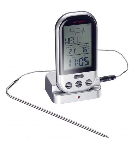 Westmark Digitales Funk-Bratenthermometer