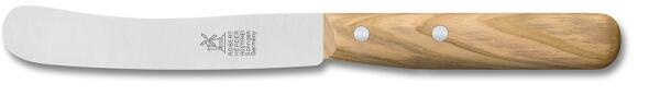 Frühstücksmesser Buckelsklinge von Windmühlenmesser Olivenholz  (rostfrei)