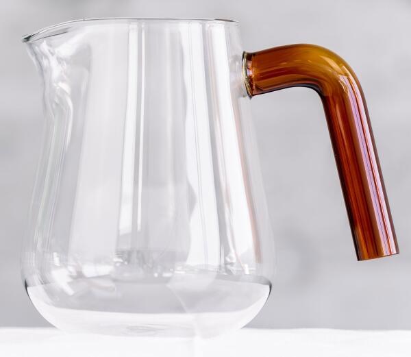 Carl Henkel Kaffeekanne X-TRACT-BREW ARCA, amber handle